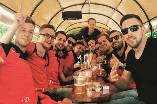 JGA Männer Gruppe